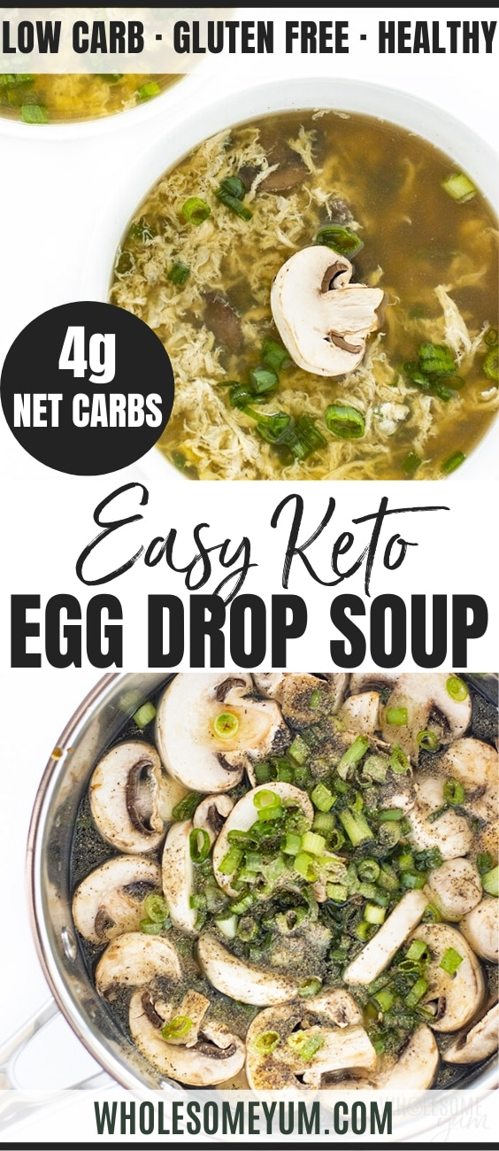 how to make egg drop soup - pinterest