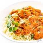 bowl of butter chicken recipe