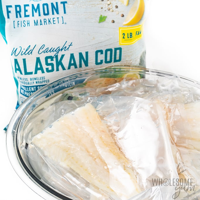 thawing fish for baked cod recipe