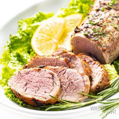 Rosemary Garlic Keto Pork Tenderloin Recipe