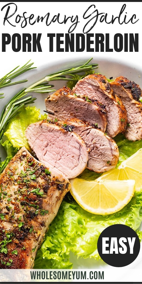 garlic pork tenderloin
