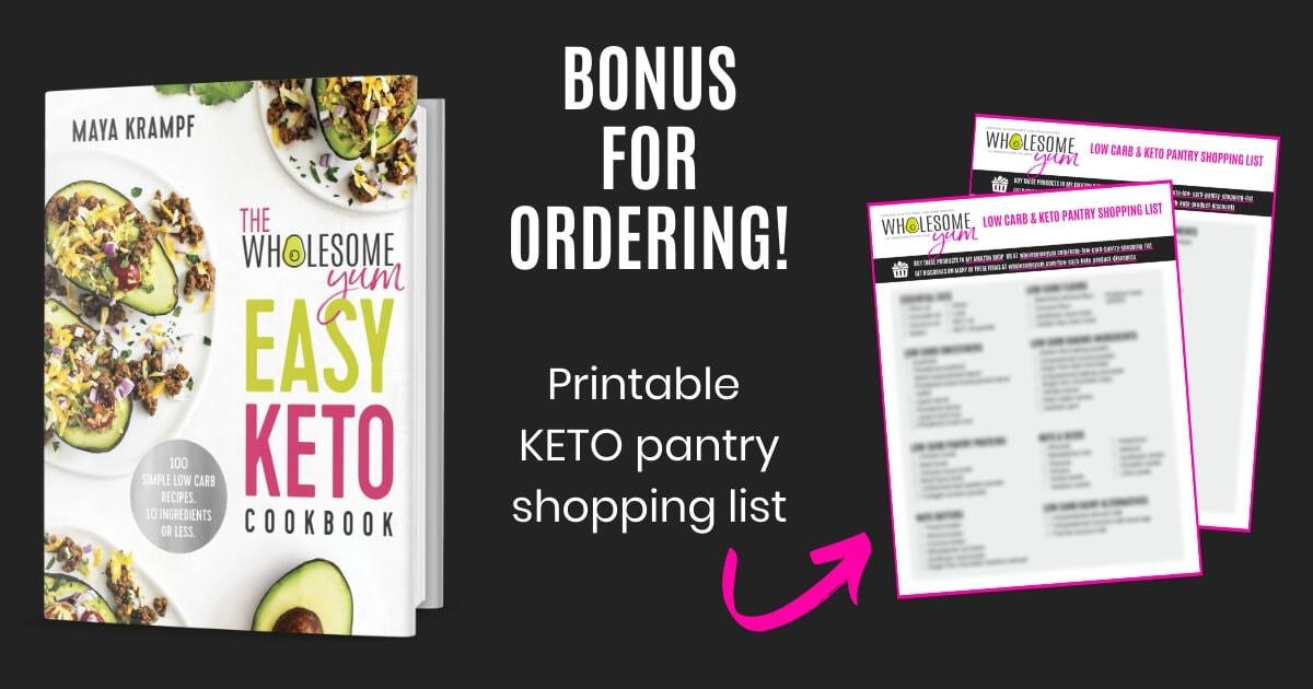 Easy Keto Cookbook Bonus