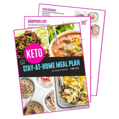 Easy Stay Home Keto Meal Plan From Your Freezer & Pantry