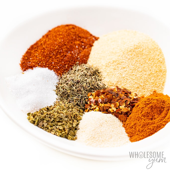 spices for cajun seasoning mix