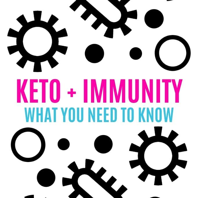 does keto diet weaken the immune system