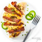 jalapeno popper chicken with bacon