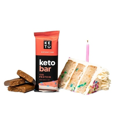 Keto snack bar variety of flavors