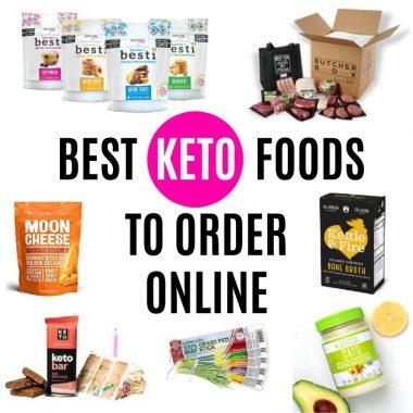 Top 30 Keto Foods To Buy Online
