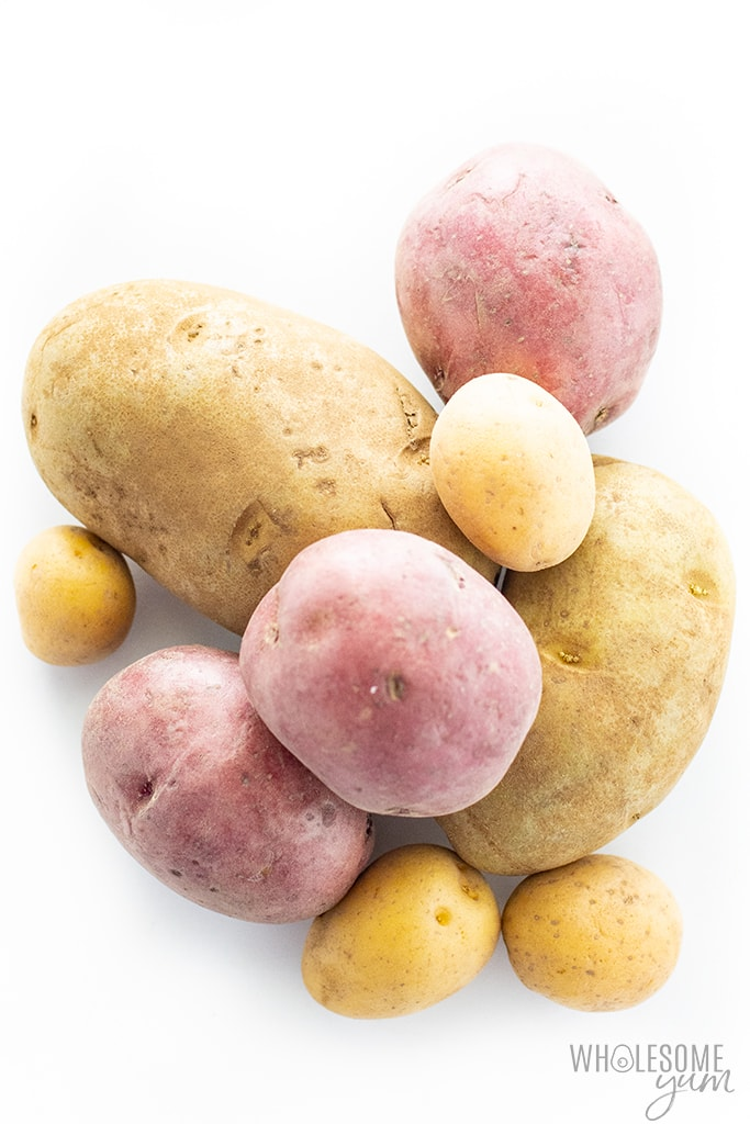 Are potatoes keto? All varieties of potatoes, including the ones pictured here, are not keto.