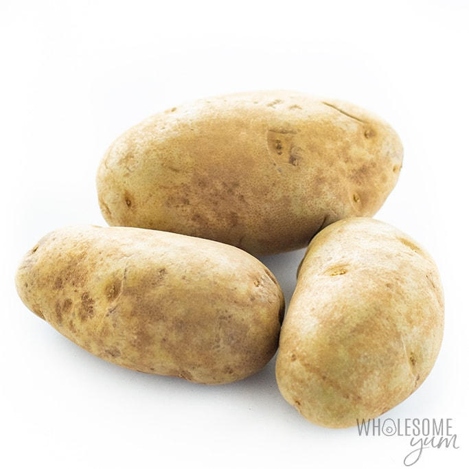Are potatoes keto? The potatoes in this image are not keto.