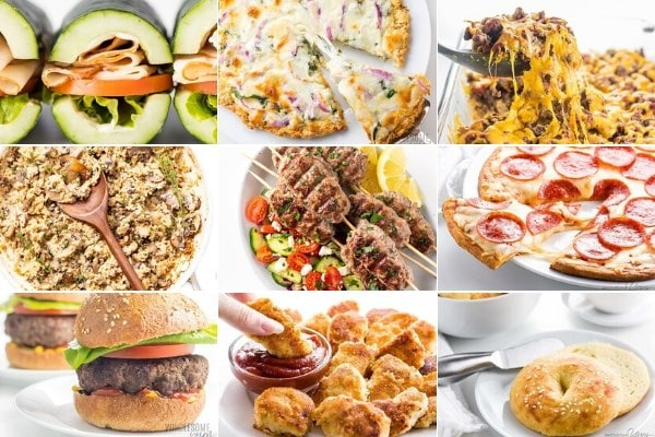 Recipes from Easy Keto Meal Plans