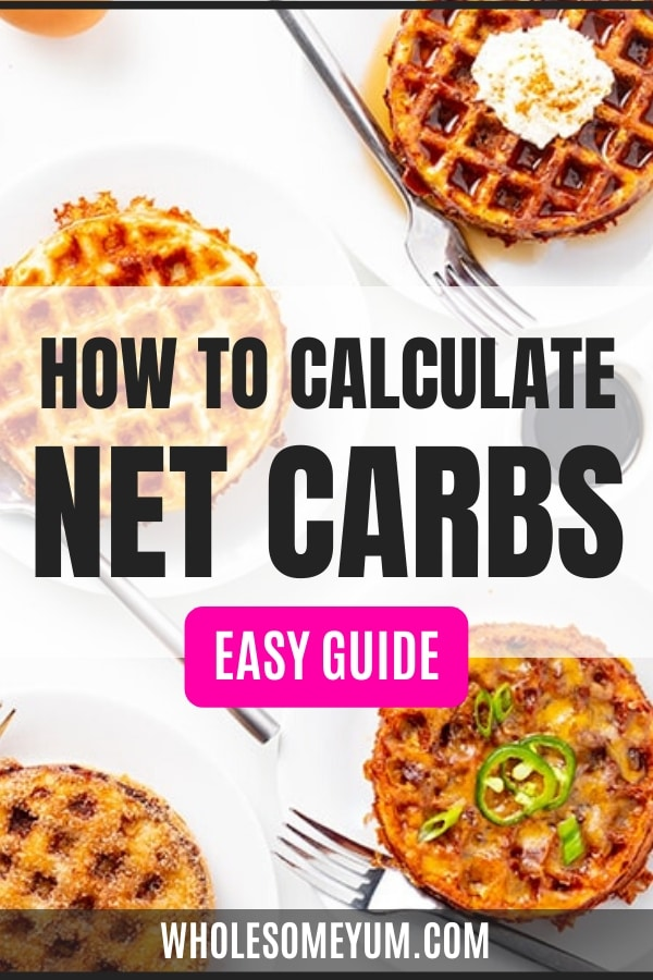 How do you calculate net carbs? The guide here will show you how, plus the difference in carbs vs net carbs.