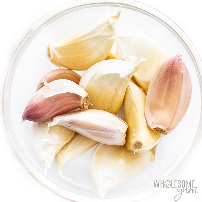 can i have garlic on keto diet