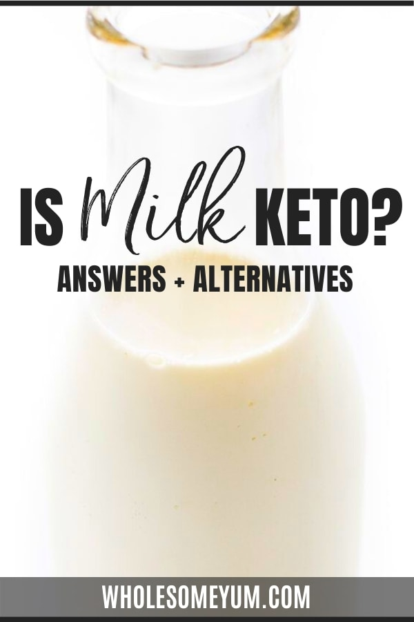 Is milk keto? Get the answer with this article, plus find out keto friendly milk alternatives.