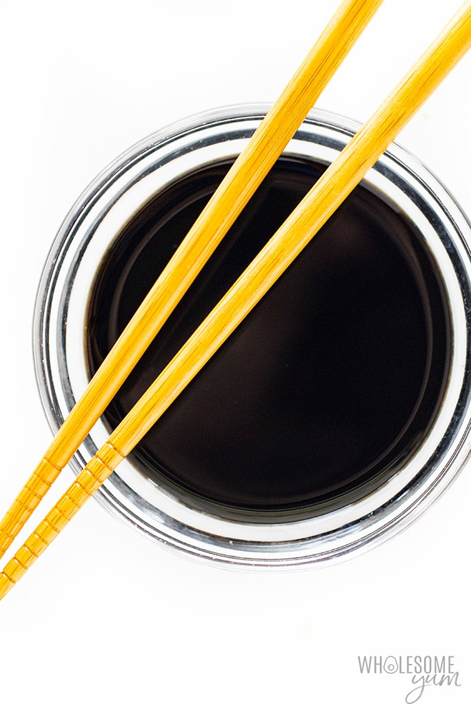 Is soy sauce keto? This soy sauce can be considered keto friendly.