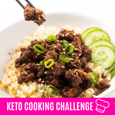 Keto Cooking Challenge: May 2020