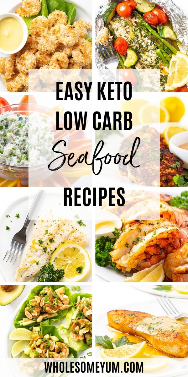 Easy Keto Low Carb Seafood Recipes