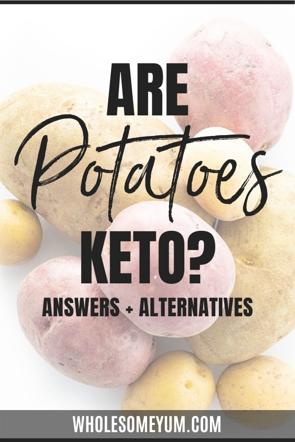 Can you have potatoes on keto? The answer may surprise you. Learn whether the potatoes pictured here are keto friendly.