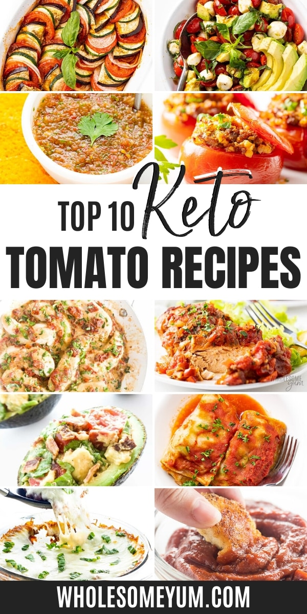 tomatoes and keto diet