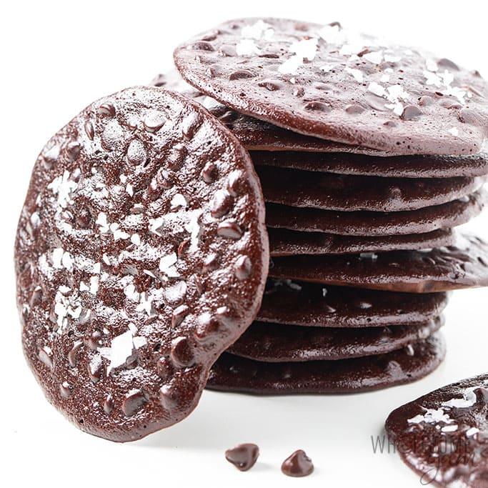 Flourless chocolate cookies didn't work