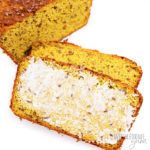 flaxseed bread with butter