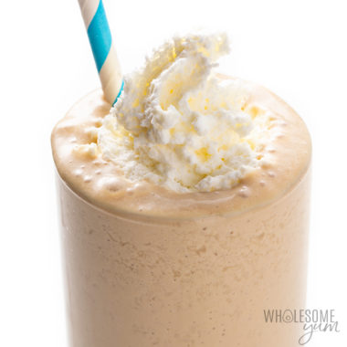 Keto Iced Coffee Protein Shake Recipe