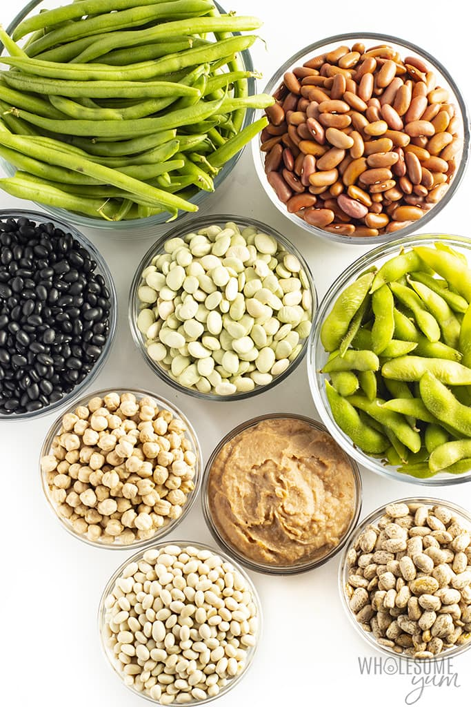 Are Beans Keto Carbs In Beans Substitutes Wholesome Yum