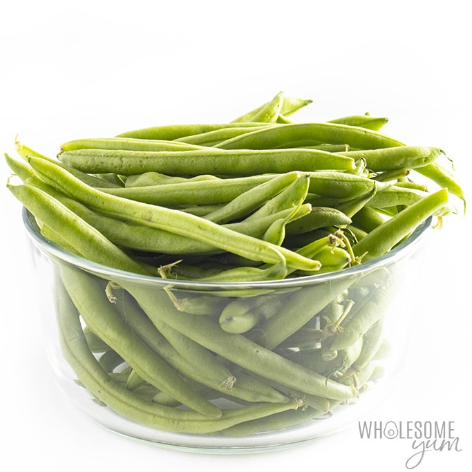 Are green beans keto? The green beans pictured here are keto friendly.