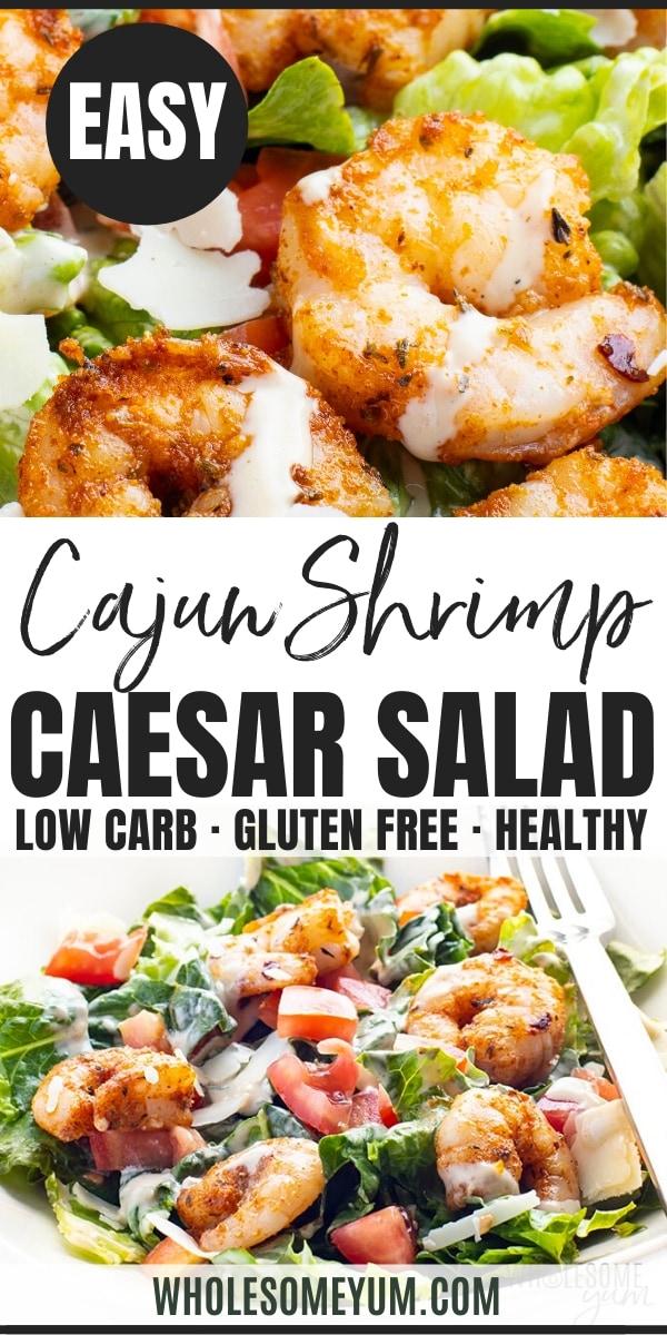 Shrimp Caesar Salad Recipe - pinterest