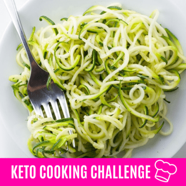 Keto Cooking Challenge: July 2020