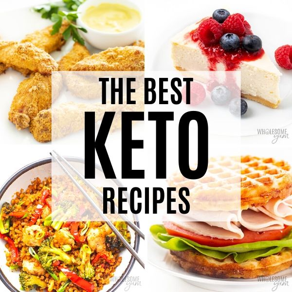 The Best Low Carb Keto Recipes Wholesome Yum