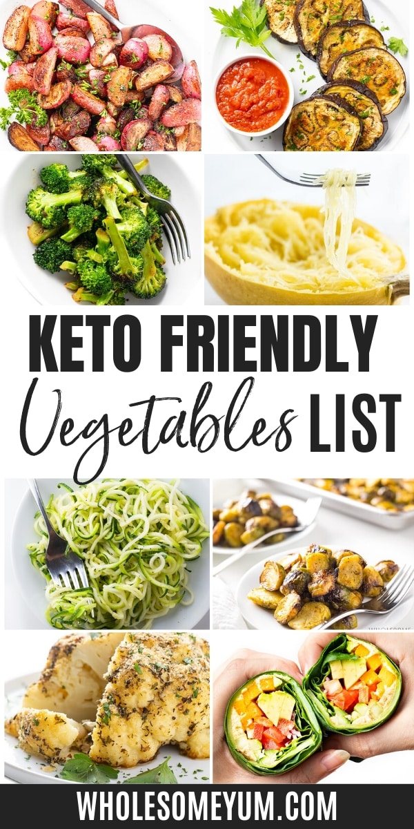 Learn about keto approved vegetables with this easy list, including recipes!
