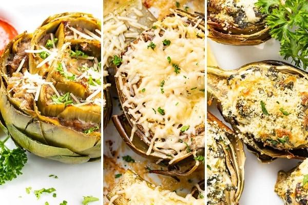 keto artichoke recipes