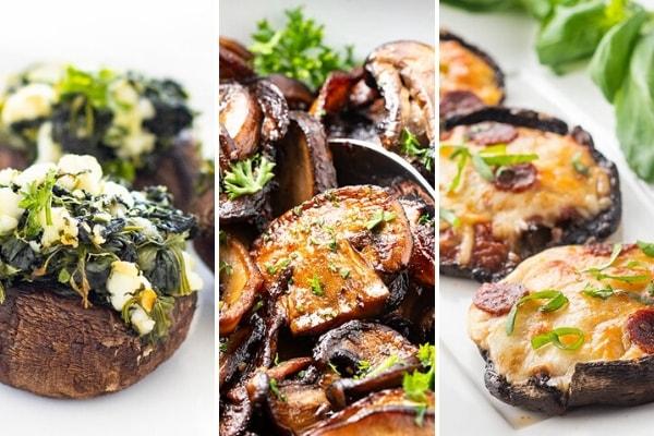 Mushroom keto recipes