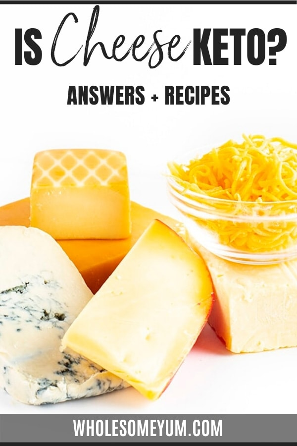 Is cheese keto? Get the full guide here, complete with keto cheese list, carbs in cheese, and easy cheesy recipes!
