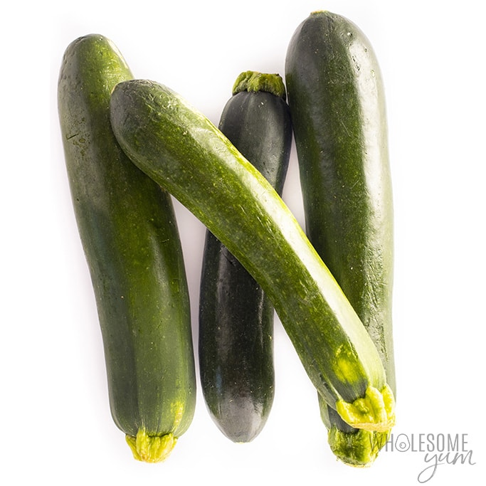 Is zucchini keto friendly? These raw zucchini are suitable for a low carb diet.