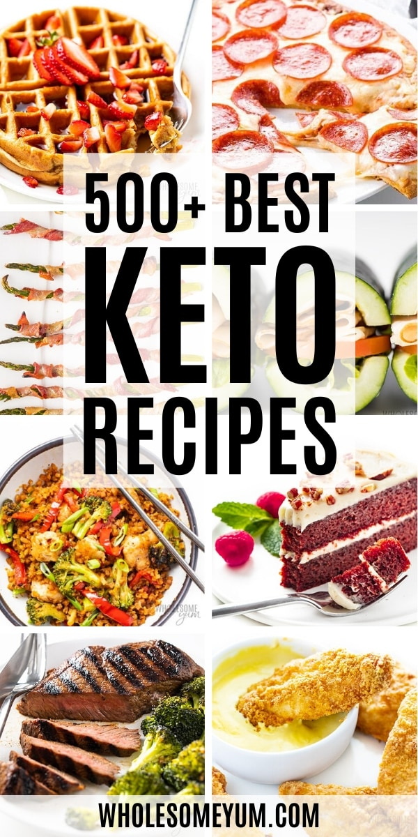The Best Keto Recipes - header image collage