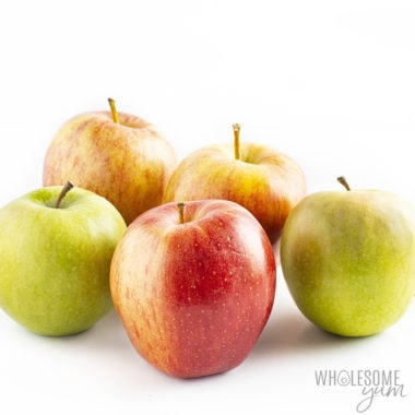 Are apples keto? The various apples here are not friendly to low carb diets.