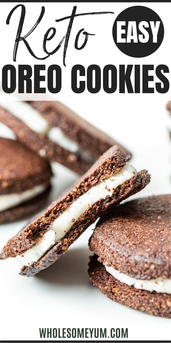 gluten free oreo cookies recipe - pinterest
