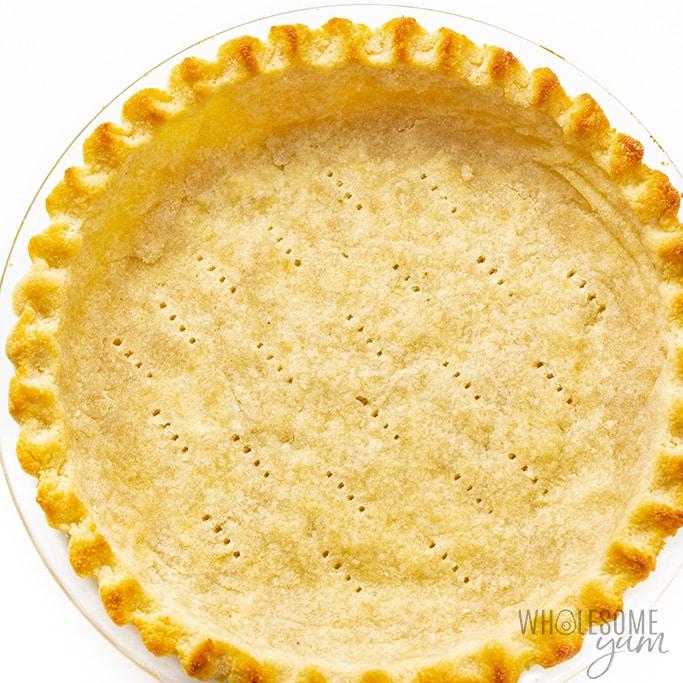 Keto coconut cream pie crust
