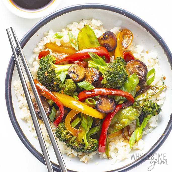 How To Stir Fry Vegetables Vegetable Stir Fry Recipe Wholesome Yum