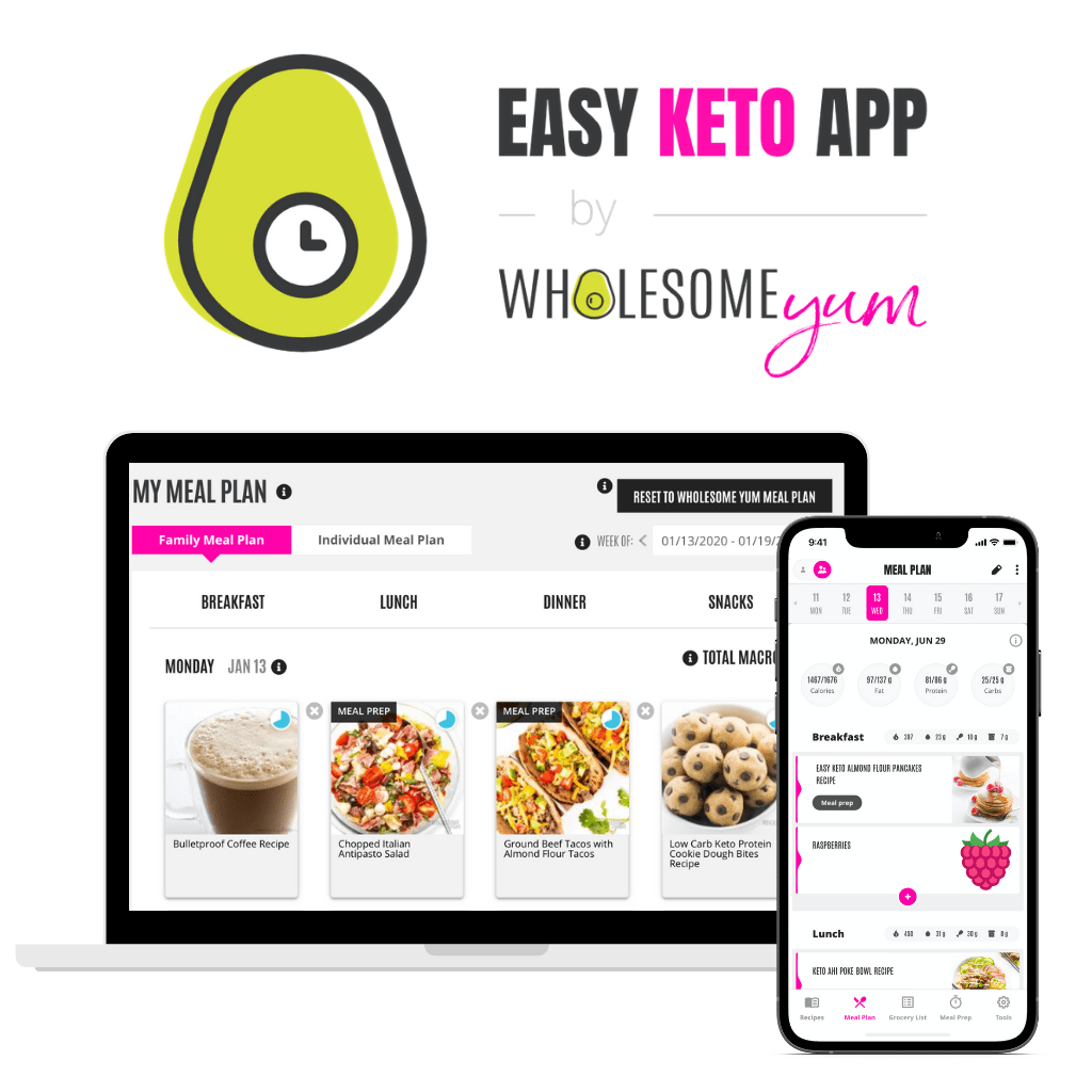 Try the Easy Keto Meal Plans App