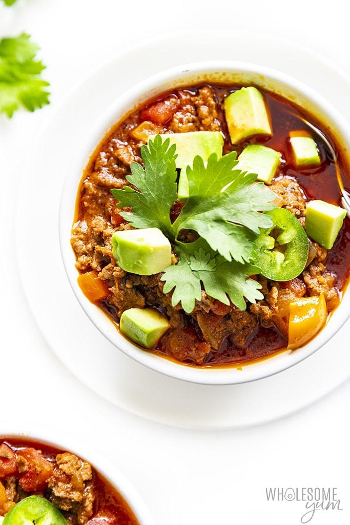 Whole30 Chili Recipe Wholesome Yum