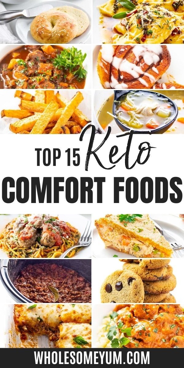 Do keto comfort foods exist? Yes! These keto comfort food recipes show that you don't have to give up warm and cozy flavor.