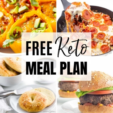 Use this 7-day keto meal plan to make a week's worth of delicious, family-friendly meals!