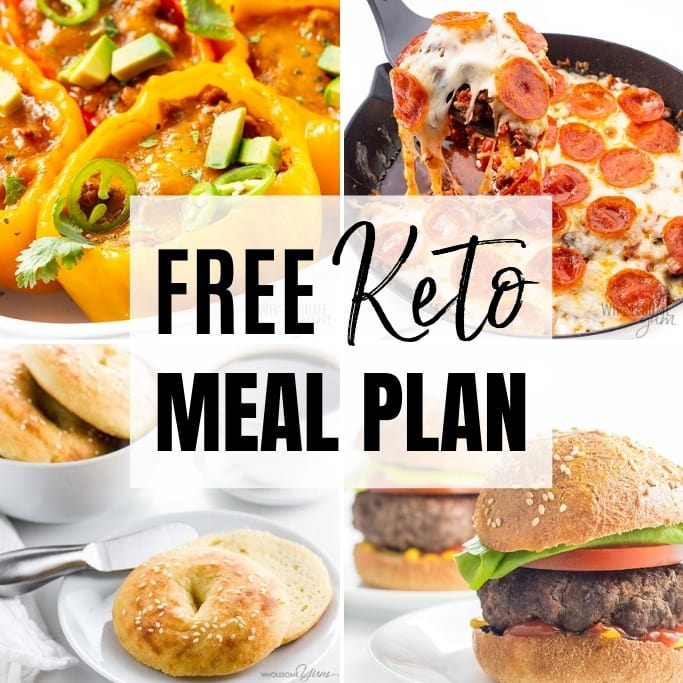 Free 7 Day Keto Meal Plan For Beginners