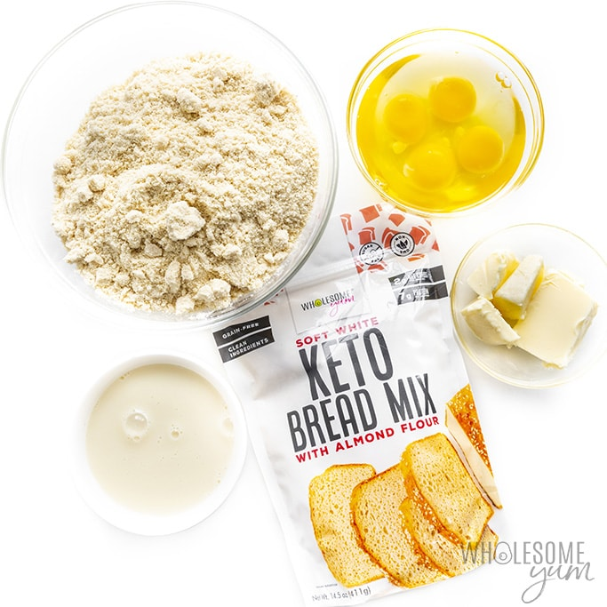 Keto yeast bread ingredients