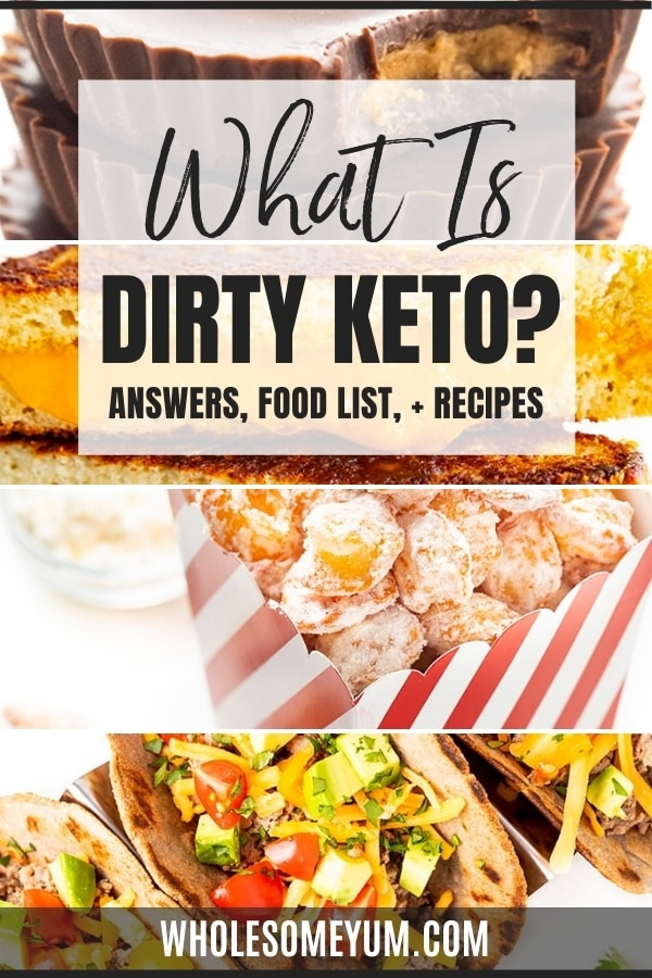 What is a dirty keto diet, and is it right for you? Learn here, including a guide to dirty keto foods and comparison of clean keto vs dirty keto.