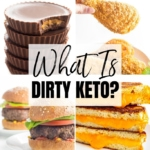 What is a dirty keto diet? Get answers here, including dirty keto foods and how clean keto vs dirty keto compare.