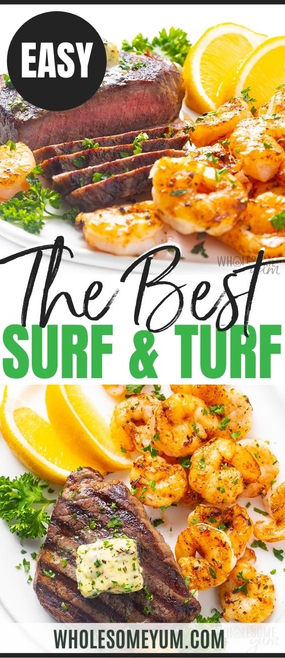 The best surf n turf recipe pin